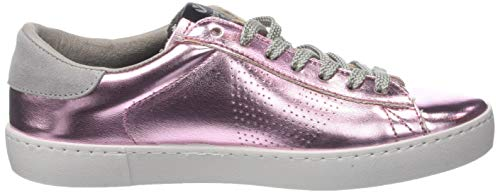 Victoria Metalizado Deportivo Baskets 42 rosa Femme Rose FqB1rFwOxn