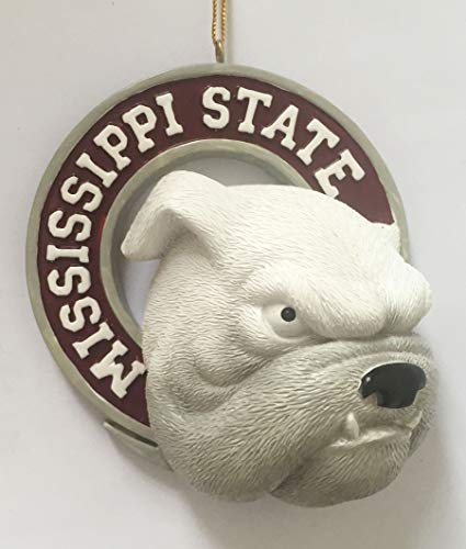 Mississippi State Bulldogs Christmas Ornament