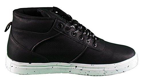 Herren Schuhe - High Sneaker - Touch Black White - schwarz / weiß