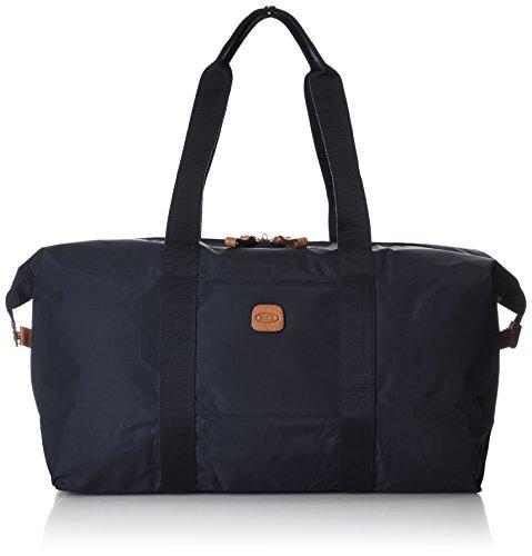Bric's X x-Travel 2.0 18 inch Cargo Overnight Folding Duffle Duffel Bag, Navy, One Size by Bric's