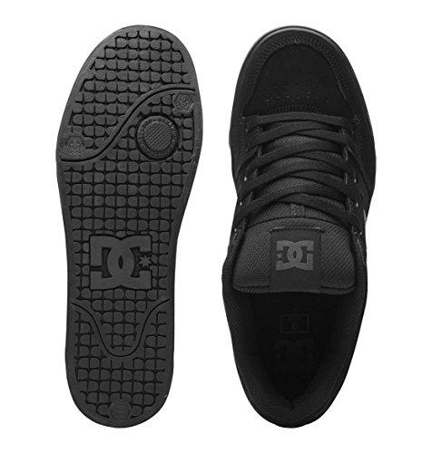 DC Men's Pure Skate Shoe, Black/Pirate Black, 11.5 M US