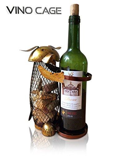 Wine Bottle Cage - 4