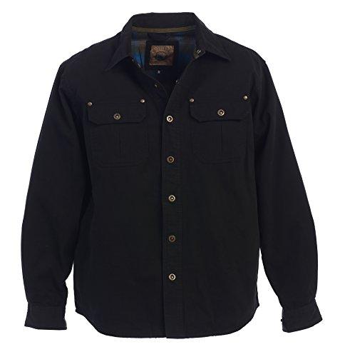 Adult Black Twill Jacket - 1