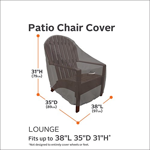 Classic Accessories 55-160-015101-4PK Ravenna Patio Lounge Chair Cover, Large (4-Pack) by Classic Accessories (Image #1)