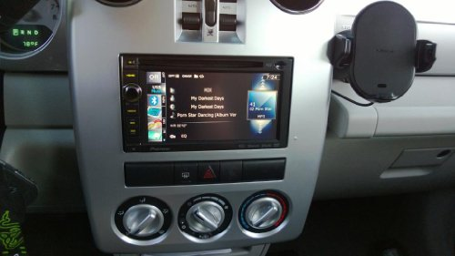 chrysler pt cruiser gps navigation aftermarket double din. Black Bedroom Furniture Sets. Home Design Ideas