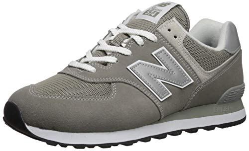 New Balance Women's 574v2 Evergreen Lifestyle Sneaker, Grey, 7.5 B US