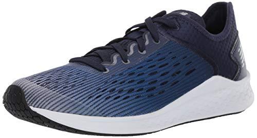 New Balance Boys' Fast V1 Running Shoe, Light Aluminum/Team Royal/Pigment, 5 M US Big Kid (New Balance Shoes Boys Size 5)