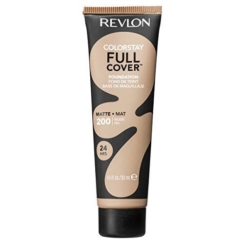 Revlon ColorStay Full Cover Foundation, Nude, 1.0 Fluid Ounce