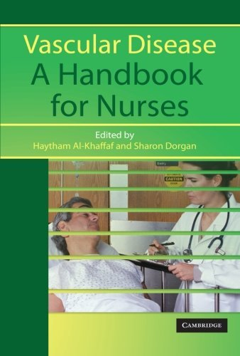 Vascular Disease  A Handbook For Nurses  2005 04 28