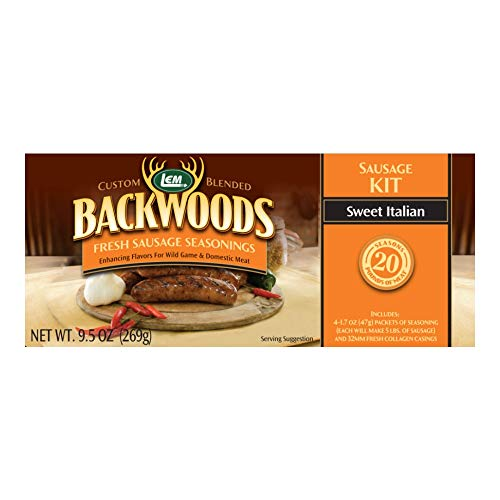 (LEM Backwoods Sweet Italian Sausage Kit)