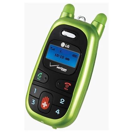 amazon com lg migo vx1000 mobile child phone with battery and wall rh amazon com LG Migo Year Released LG Migo Year Released