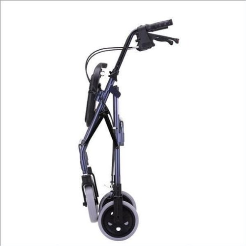 Nova MedicalProducts Health Care Hospital Daily Mobility Aids Cruiser Deluxe Rolling Walker Blue by Nova