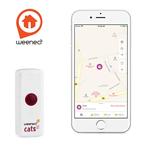 Weenect GPS Tracker for Pet Cat