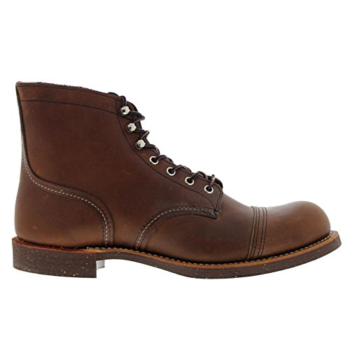 Red Wing Heritage Iron Ranger 6-Inch Boot, Amber Harness, 11 D(M) - Boots Men Wing Red Work