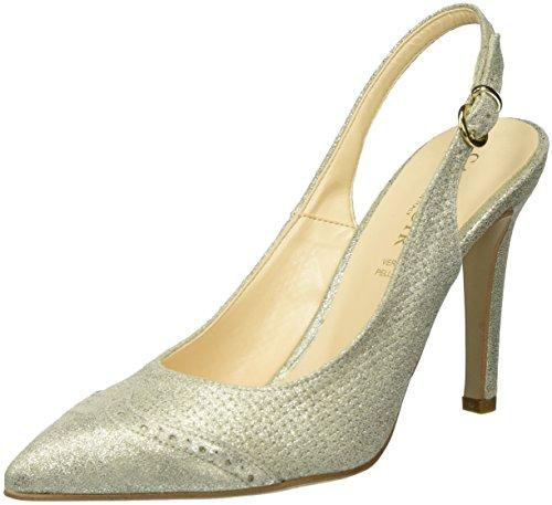 CAFèNOIR Zapatos de talón abierto Mxp604 Platino EU 41
