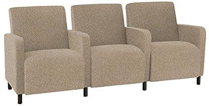 Amazon.com: Lesro Ravenna Q3403G8BVTERR 3 Seats Sofa with ...