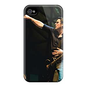 Shock Absorbent Hard Phone Cases For Iphone 4/4s With Support Your Personal Customized Attractive Breaking Benjamin Band Image ChristopherWalsh