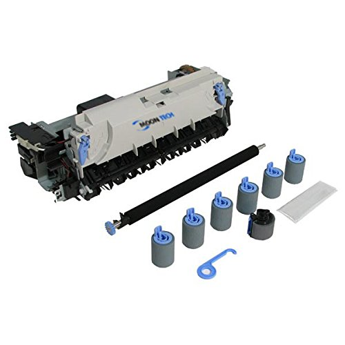 Compatible Maintenance Kit (Includes Fuser Assembly 3 Separation Rollers Transfer Roller 3 Feed Rollers Pickup Roller Instructions) (Part Number: C8057-67901) (200000 Yield) For Hp Laserjet (4100 Feed)