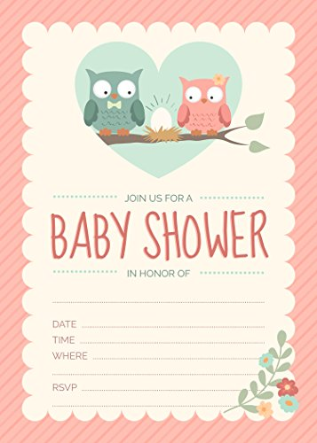 Classic Baby Shower Invitations - 7
