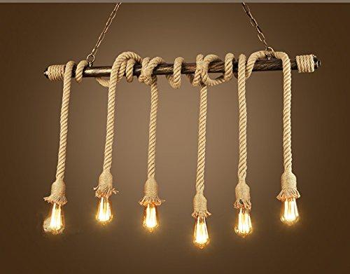 Plafoniere Per Negozi : Shengye stile rustico plafoniera lampada a sospensione i tubi per