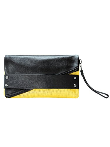 trifecta-perforated-leather-hand-strap-clutch-complete-with-rivet-studs-and-a-detachable-wristlet