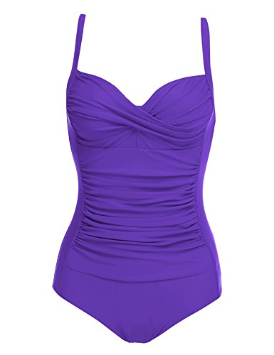 da One Swimwear Beach Donna Bagno Costumi Viola Bikini Sport Imposes per Pool Piece wgx5I1xPq