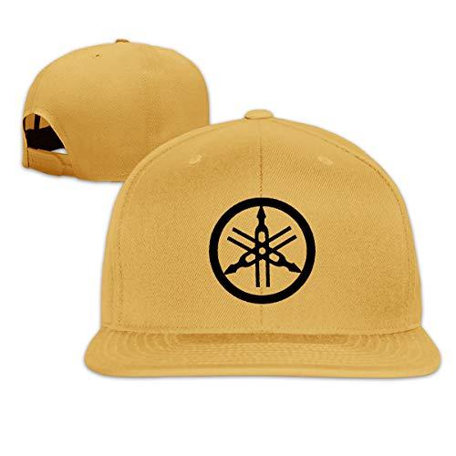 Custom Yamaha Logo Unisex Hip-Hop Korea Fashion Adjustable Yellow Baseball Cap