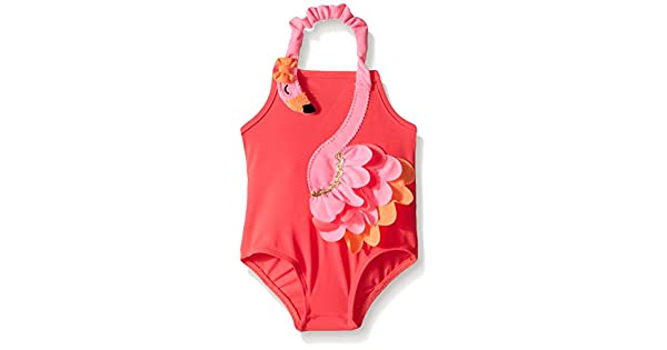 Amazon.com: Mud Pie Flamingo - Bañador para niña: Clothing