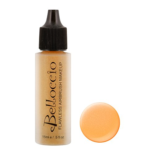 Belloccio's Professional Flawless Airbrush Makeup Highlighter Golddigger Half Ounce