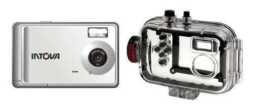 Intova CP9 Compact Waterproof Digital Camera