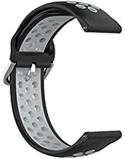 LOKEKE for Samsung Galaxy Watch 4 Classic Replacement Band - 20mm Replacement Silicone Wrist Watch Band Strap For Samsung Galaxy Watch 4 Classic 42MM/ Galaxy Watch 4 40MM