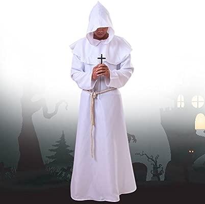 BESTOYARD Trajes de Halloween Disfraz de monjes Medievales ...
