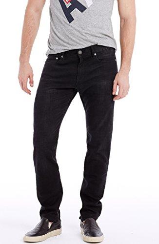 Armani Exchange Mens Black Wash Skinny Jean