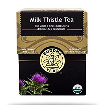 - Buddha Teas, Tea, Og1, Milk Thistle, Pack of 6, Size - 18 CT, Quantity - 1 Case
