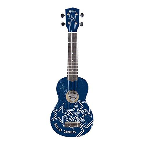 Woodrow Guitar by The Sports Vault NFL Dallas Cowboys Ukulele