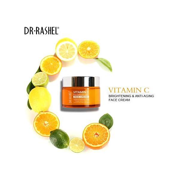 DR.RASHEL Vitamin C Face Cream For Brightening & Anti-Aging (Men & Women, 50 ml) 2021 July Quantity: 50ml; Item Form: Cream Skin Type: All Skin Type Ideal For: Men & Women