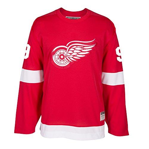Gordie Howe Detroit Red Wings CCM Premier Throwback Jersey - Red