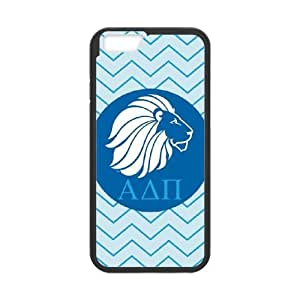 iPhone 6 4.7 Inch Cell Phone Case Black Alpha Delta Pi Geometric Lion Opcqd