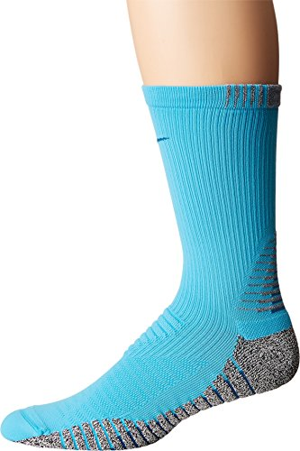 Nike NIKEGRIP Crew Training Sock Chlorine Blue/Industrial Blue Men's Crew Cut Socks Shoes