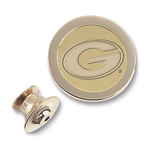 - NCAA Georgia Bulldogs Adult Men Lapel Pin, One Size, Gold