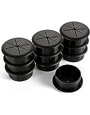 """HYCC 2"""" Flexible Desk Grommet -New- Color: Black"""