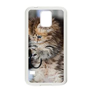 Black Cat And Goldfish Phone Case for samsung Galaxy s5