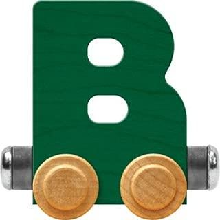 product image for Maple Landmark NameTrain Bright Letter Car B - Made in USA (Green)