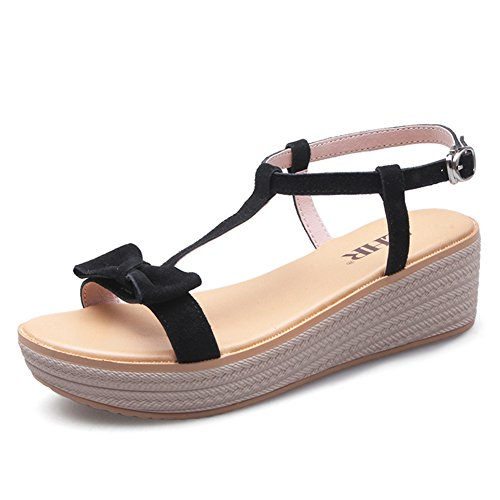 B Korean Platform Flat With Sandals Casual Students Sandals Women With Shoes Leather Summer 70aTBT