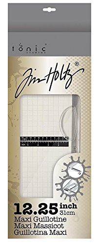 Tim Holtz Tonic MAXI GUILLOTINE COMFORT PAPER TRIMMER 1980e 12.25'' with Exclusive Guide