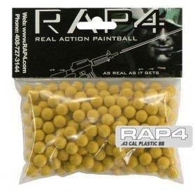 .43 Caliber Plastic BBs (Bag of 250) (Orange) - paintballs