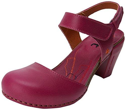Memphis Avoin magenta Vaaleanpunainen Tunnen Art Sandaalit Magenta 1281 Naisten qwCPzxES