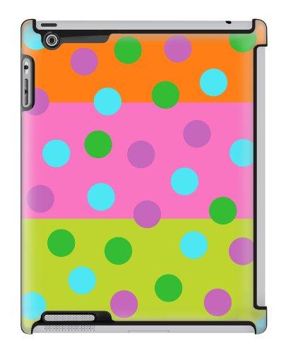 Uncommon LLC Bubble Gum Dots Deflector Hard Case for iPad 2/3/4 - Gum Dot Bubble