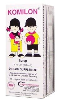 Komilon Appetite supplement Kids Syrup 4 oz
