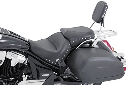 Mustang Studded 2 Piece (Mustang 2-piece Wide Studded Touring Seat 76060)